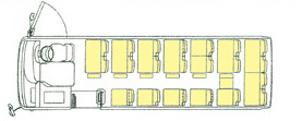 小型貸切車_座席